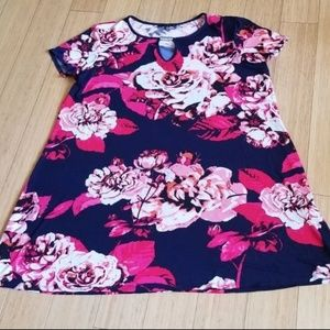 New Woman's Tiana B Floral Print Shift